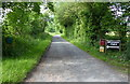 SO7980 : Lane to Birchwood Farm by Mat Fascione