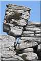 SS1345 : Rock outcrop, Lundy Island by Philip Halling