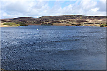SD9633 : Walshaw Dean Middle Reservoir by Chris Heaton