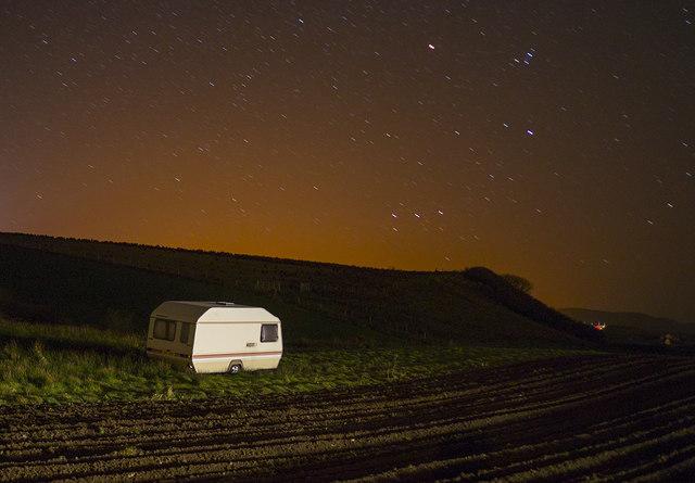 Caravan near Dunfanaghy