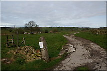 SK0663 : Gateway to Slack Farm by Peter Barr