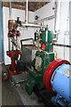 SJ4912 : Coleham Pumping Station - steam exhibits by Chris Allen