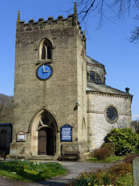 St. Martin's church, The Nook, Stoney Middleton