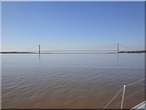 TA0224 : The Humber Bridge by Garry Whitfield