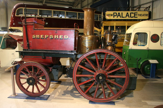 Snibston Discovery Museum - steam fire engine