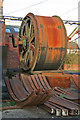 SK4114 : Snibston Discovery Museum - winding engine drum by Chris Allen