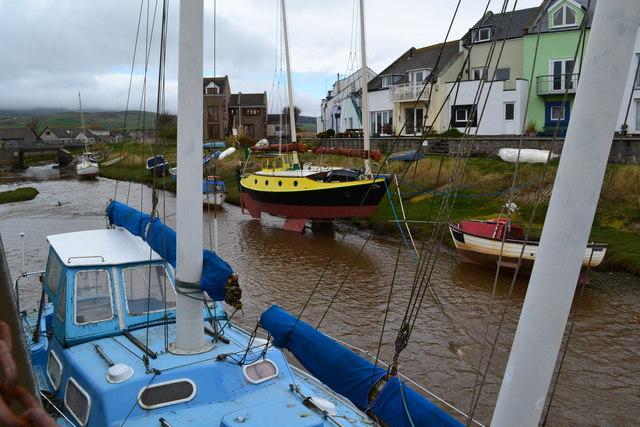 Boats at Haverigg
