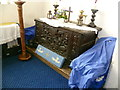 TR0266 : The medieval chest in St Thomas Church, Harty by Marathon