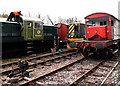 SO6204 : D9521 at  Norchard Railway Centre, Lydney by Jaggery
