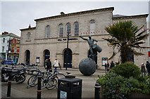SW8244 : Hall for Cornwall on Back Quay, Truro by Ian S