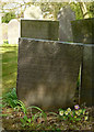 SK7020 : Belvoir Angel headstone, Saxelbye Churchyard by Alan Murray-Rust
