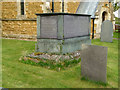 SK7123 : Chest Tomb, Wartnaby churchyard by Alan Murray-Rust
