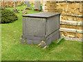 SK7123 : Chest Tomb, Wartnaby churchyard by Alan Murray-Rust