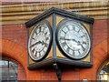 SU9676 : Windsor Royal, Former Station Clock by David Dixon