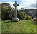 SO4593 : Church Stretton War Memorial by Jaggery