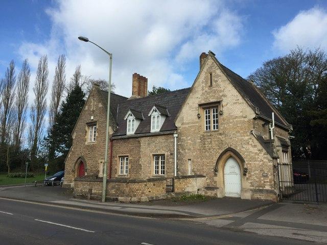 Stafford: former Lodge of Coton Hill Asylum