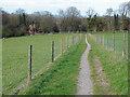TQ0851 : Decoy bridleway, Hillside Manor by Alan Hunt