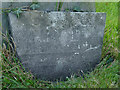 SK6926 : Belvoir Angel headstone, Nether Broughton Churchyard by Alan Murray-Rust