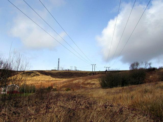 Wires over Blaencaerau