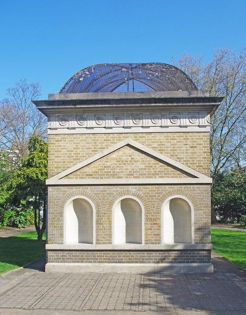 London Underground ventilation shaft, Gibson Square, Islington