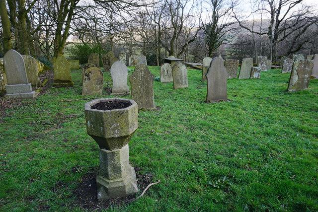 Churchyard in Edale