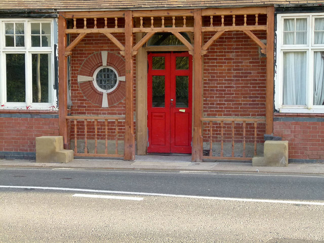 Entrance to the former Red Lion