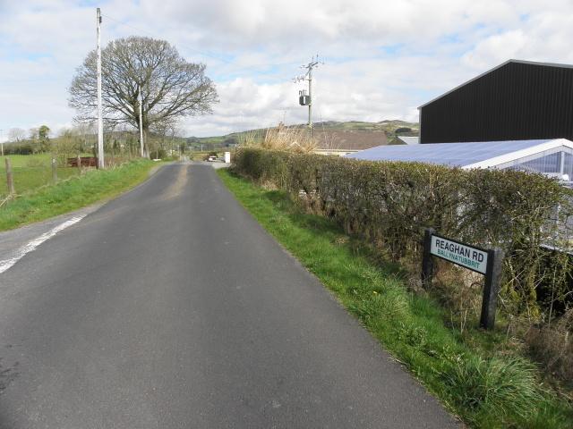 Reaghan Road, Ballynatubbrit by Kenneth  Allen