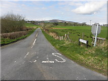 H4483 : Ballykeel Road, Ballynatubbrit by Kenneth  Allen