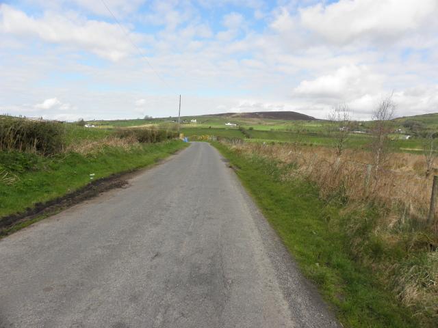Reaghan Road, Legnabraid by Kenneth  Allen