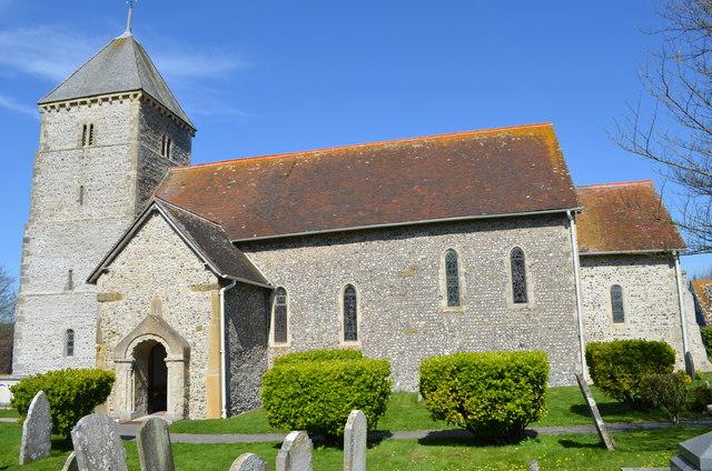St Andrew's church, Bishopstone
