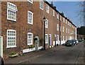 SK3538 : Darley Abbey - Brick Row by Dave Bevis