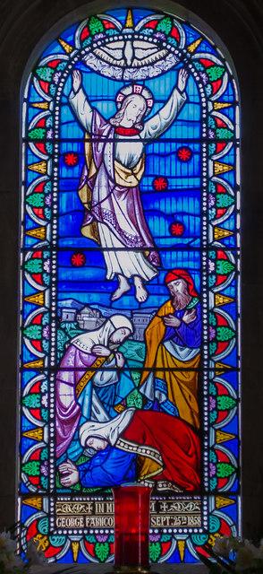 East Window, St Andrew's church, Bishopstone
