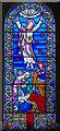 TQ4700 : East Window, St Andrew's church, Bishopstone by Julian P Guffogg