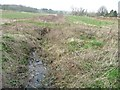 TL2603 : Drain on the north side of Swanley Bar Lane by Christine Johnstone