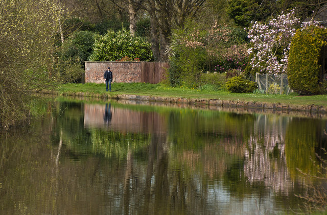 Reflections in the Bridgewater Canal