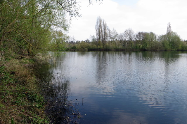 Lake by Orton Meadows