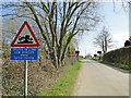 TM1482 : Risk of grounding at Audley End level crossing by Adrian S Pye