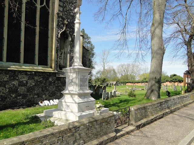 Dickleburgh War memorial