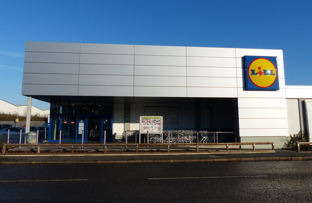 Lidl store on Loughborough Road
