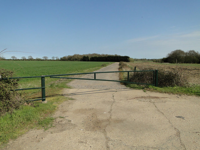 Remnant of Thorpe Abbotts Airfield