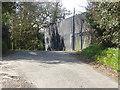 TQ0850 : Enclosure, Shere Road by Alan Hunt