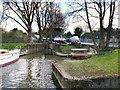 SU9777 : Tom Jones' Boatyard at Romney Lock by David Dixon