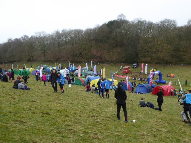 The assembly area for Day 3 of the JK Orienteering Festival 2015