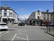 SH5638 : The flags are out in the High Street by Peter Holmes