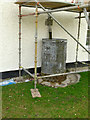 SK6826 : 18th century water cistern at Willow Farm by Alan Murray-Rust