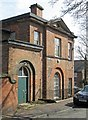 SK3538 : Darley Abbey - former St Matthews School - New Road frontage by Dave Bevis
