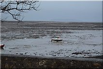 SH5873 : Boat on the mud by N Chadwick