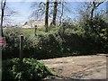 SX3580 : Lane junction, Roundhill Cottages by Derek Harper