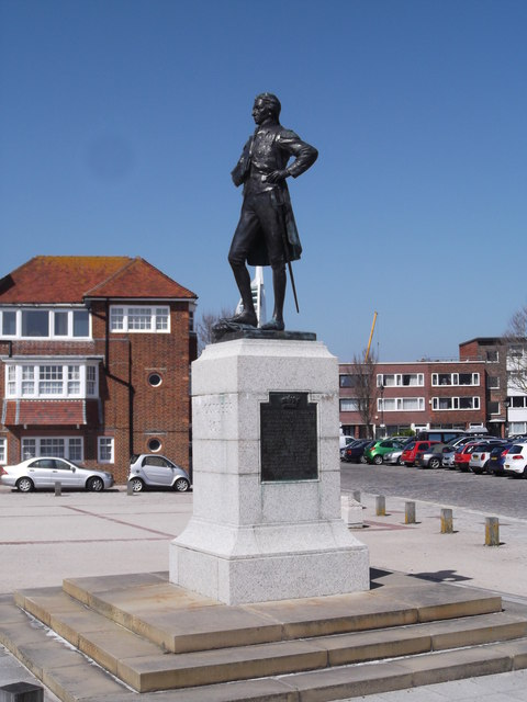 Horatio Nelson statue, Grand Parade, Portsmouth