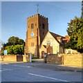 TQ0079 : Langley, The Church of St Mary The Virgin by David Dixon